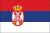 Flagge Serb